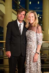Chairmen: John Preston and Monika Preston.  Photo by:  Capehart Photography