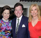 Honorary Chairmen: Hillie Mahoney, Thomas C. Quick and Michele Kessler. photo by:  Capehart Photography