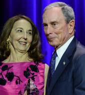 Jennie DeScherer ( Founding Board of Directors) and The Honorable Michael R. Bloomberg