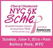 NYC 5K Schlep Run/Walk for Breast & Ovarian Cancer