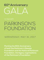 Parkinson's Foundation 60th Anniversary Gala