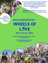 ALYN 20th Wheels of Love Ride
