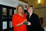Exceptional Philanthropy Award winner Kathryn Vecellio and American Heart Association CEO Nancy Brown