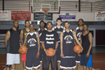 members of the kendall madison playaz, AAU basketball team
