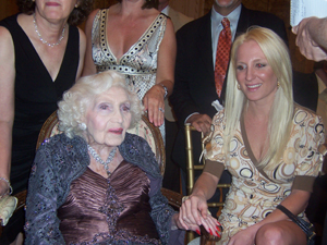 Gertrude Maxwell celebrates her 98th Birthday