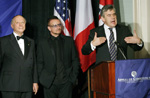 Rabbi Arthur Schneier, Bono, British Prime Minister Gordon Brown, Appeal of Conscience Foundation