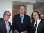 Howie Rosen, Dr. Bill Andres, Raphael Douady