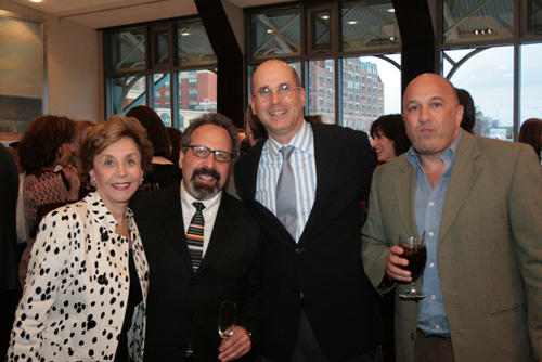 Project Morry Chairperson Amy Stein of Hartsdale, Dr. Laurence Glickman of