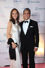 Clo Cohen and Charles Cohen, Norton Museum of Art Bal des Arts 2010:  Black and White Ball