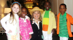 Paulette Burdick and Opportunity, Inc. children
