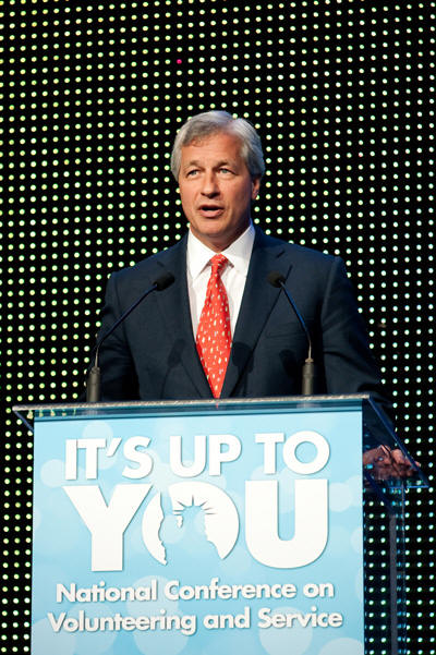 Jamie Dimon Addresses Service Leaders at the