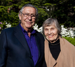 Edward & Vivian Merrin. Photo by: Alonso Nichols/Tufts University