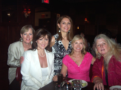 Karen Ballou, Michelle Tecco, Jean Shafiroff, Sharon Bush and