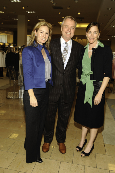 Eva Bisso, Rick Terry and Hollis Grace at Neiman Marcus