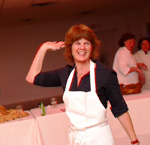 The American Heart Association's Dessert Challenge Winner, Kathleen King from Tate's Bakery