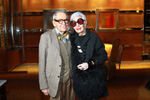 Carl Apfel and Iris Apfel