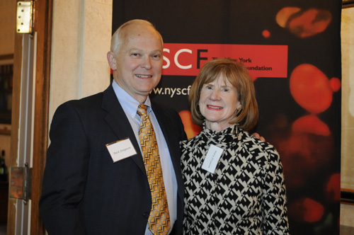 "Raymond ""Buck"" Ferguson, part-owner of the Seattle Mariners and former Senior Director of Investor and Shareholder Relations at Microsoft, and his wife Mary"