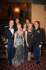 Col. John Christian, Patricia Kennedy, Tiffany Smiley & Capt.  Scotty Smiley, Amanda Miller, Sgt. Todd Bowers, Major Jacob Miller