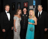 Ricky Clary, Co-Chair Mary Jane Fortin (President & CEO, American General Life Companies), Kinky Friedman,
