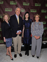Topsy Taylor, David Patrick Columbia, author Jill Kargman, and