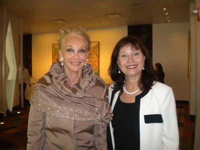 Barbara Winston and Sally Bassett