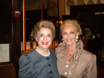 Lila Prounis and Barbara Winston