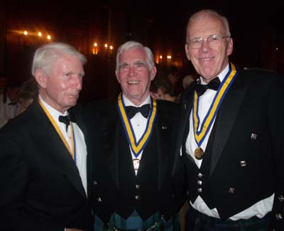 Robert Douglass, Alan L. Bain, Sir Ian Wood