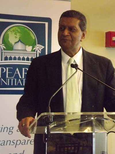 Amir Dossal, Co-Founder, Pearl Initiative. Founder & Chairman, Global Partnerships Forum