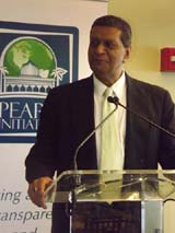 Amir Dossal.  Photo by:  Joyce Brooks