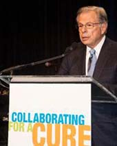 Dr. Samuel Waxman speaks at the SWCRF 17th Annual Benefit Dinner & Auction � Patrick McMullan