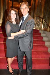 Honoree, Lisa Lemole Oz and Dr. Mehmet Oz.  Photo by:  Rose Billings/Blacktiemagazine.com