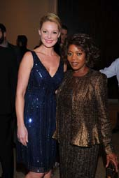 Katherine Heigl and Alfre Woodard.  photo by:  vince bucci