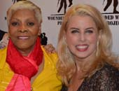 Dionne Warwick and Rita Cosby