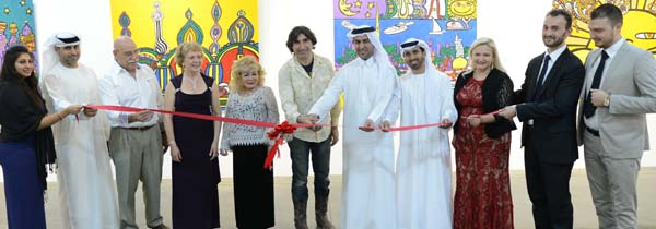 Our first Opening in Dubai, It was a fabulous event The guests list on the pictures starts with the Artist Bhavna Vaya,  Mr. Khalil Abdulwahid Visual Art Manager of Projects and Events, Department of  Dubai Culture, Mr. Burt Alfieri Partner Artissima Gallery, Opera Singer Paula Oleska, Gloria T. Cressler P.R./Agent & International Correspondent and Host of Black Tie International Magazine, Artist Marco, the Ministers from the Dubai Culture headed by Dr. Salah Algassim, Advisor to the Dubai Culture,Mr. Ahmad Alserkal, Founder and President of Alserkal Cultural Foundation,  Aurela Cuku partner Artissima Gallery Artist Pellumb Rira, Denald Cuku Manager Artissima Gallery. Not included in the picture are the Consul General of Peru Carlos Tavera, Robert Lester of Vienna Austria, and Etienne Van Den Peereboom Of Belgium