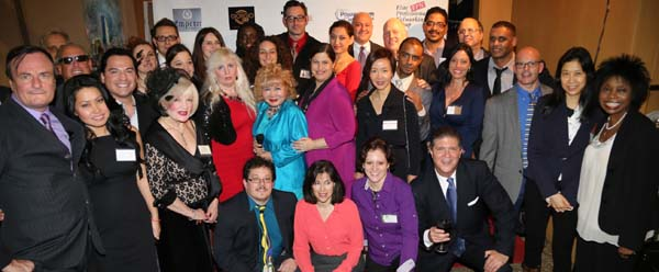 Artist Michael Indorato, Liza Zimmer, Gerard McKeon Publisher Black Tie International Magazine, Enna Chiang of Books n Pillows Inc., Comtesse Suzanne de Paris, Galina Saucedo, Gloria T. Cressler Host CEO/Founder Elite Professional Networking Group & International Editor & Host Black Tie International Magazine & TV, Bill Orly Amor President Holistic Chamber of Commerce, Bill Lanndis Actor/Talent Director, Joan Pelzer VP of Marketing The New York Association for American-Russian Relation to the UN,  Richard Alan of Richard Alan Management, Jose Segarra Magnum Group, Award Winning Director, Producer & Writer Dean Love, Mark Jaffe President Greater New York Chamber of Commerce, Victoria Longo of Euphoric You, Jon Landers of Creative Group  Lou Gordon Director Balcony & many other guests.