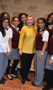 Hillary Clinton.  Photo by:  Rose Billings/Blacktiemagazine.com