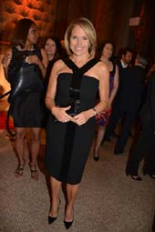 Katie Couric.  Photo by:  Rose Billings/Blacktiemagazine.com