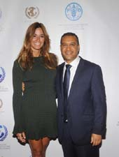 Ambassador Lorenzo and Kelly Bensimon