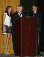 Dr. Andy McCabe,  Bill Sorvino  and Michele Sorvino