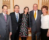 h Board's 2015 Spring Benefit raised more than $1.3 million for the organization, which serves more than 35,000 people from all religious, ethnic, and economic backgrounds. (l to r) Jewish Board CEO David Rivel, Jewish Board Vice President and recipient of the Saul Z. Cohen Leadership Award David Edelson, Jewish Board President Alice Tisch, Jewish Board Trustee and recipient of the Madeleine Borg Lifetime Services Award Paul Kronish, JBFCS Trustee and recipient of the Madeleine Borg Lifetime Services Award Susan Hecht Tofel© Michael Priest Photography