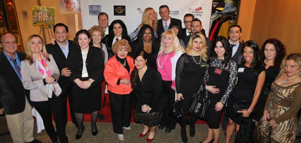 1st Row: Dr. Victor Goncharov, Sabina Klimek Trade Commissioner of Poland, Rebecca Lewis, Gloria T. Cressler Host, President & Founder Elite Professional Networking Group (EPNG) International Editor & TV Host of Black Tie International Magazine, Orly Amor President & Founder Health & Wellness Network of Chamber, Galina Saucedo Interior Designer, Anely of Anely Cosmetics and Irina Gubenko, 2nd Row: Bill Lee Lanndis Actor/Director, Opera Singer Paula Oleska also President of Brain Upgrade, Lona B. Alawie Director of Sales Astoria Living Realty, TV Host Nikki Rich of Nikki Rich Show, Artist Juan Fernando Silva, Kenneth Flornes CEO/Founder Nectar Furnished Apartments, European Super Model Angelina Shipilina, Richard Alan President Richard Alan Management, Wojciech Trocewicz of the Polish Consulate and many more