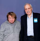 Lou Gramm and George Chrisafis.  Photo by:  Vincent Pelly Photography