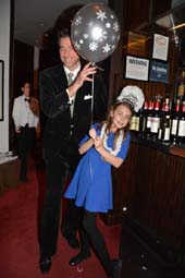 Mauro Maccioni and His adorable daughter Stella.  Photo by:  Rose Billings/Blacktiemagazine.com