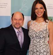 Jason Alexander and Moran Atias. Photo by:  Orly Halvey and Michelle Mivzari