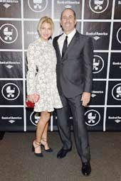 Jesssica Seinfeld, Jerry Seinfeld, Baby Buggy Gala