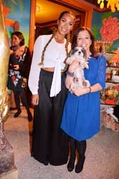 Leone Lewis, Baby Hope and Wendy Diamond.  Photo by:  Rose Billings/Blacktiemagazine.com