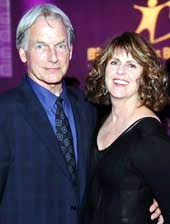 Mark Harmon and Pam Dawber.  Photo by:  Vince Bucci