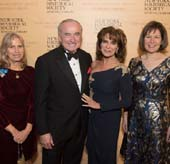 New-York Historical Society President Louise Mirrer, History Maker Award honoree William Bratton, History Maker Award honoree Rikki Klieman, Chair of New-York Historical Society?s Board of Trustees Pam Schafler. Photo by: Don Pollard.