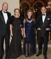 Jacqueline Weld Drake and Prince Dimitri of Yugoslavia. Carolina Herrera,Jacqueline Weld Drake and Reinaldo Herrera. Photo by:  Annie Watt