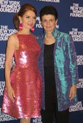 Jean Shafiroff, Event Co-Chair and Ana L. Oliveira, President & CEO of NYWF .  Photo by:  Joyce Brooks/Blacktiemagazine.com